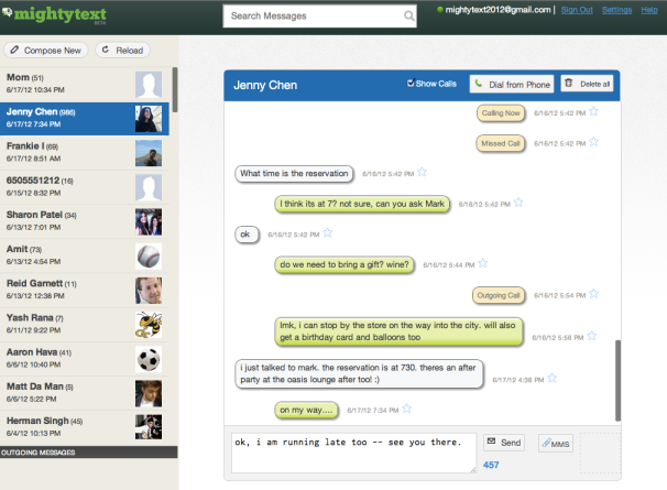 250K beta testers later, MightyText launches possibly the