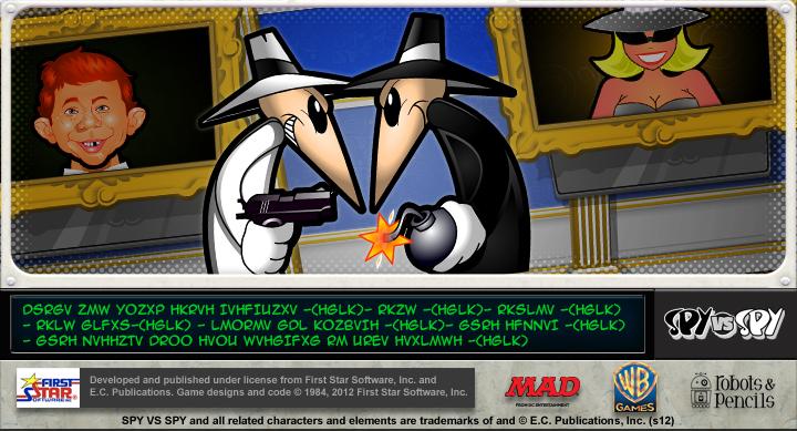 Spy vs. Spy mystery teaser