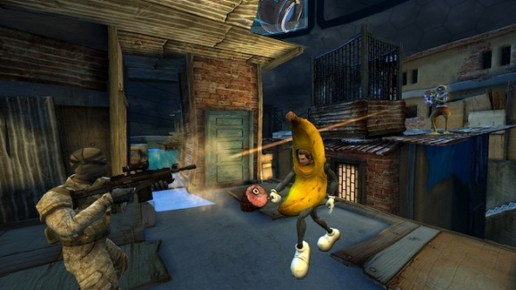 Offensive Combat Banana Suit