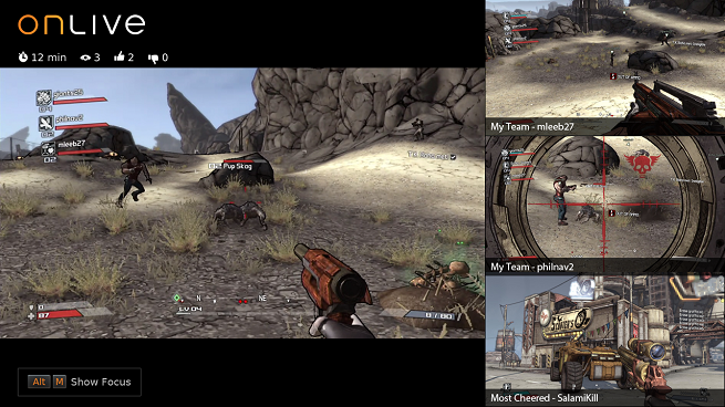 OnLive MultiView