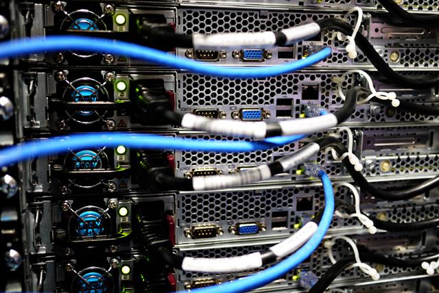 Open-source hardware at work in Facebook's data center in Prineville, Oregon