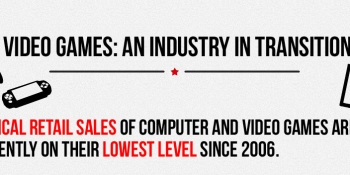 Digital game sales are up but still can't touch Call of Duty (infographic)
