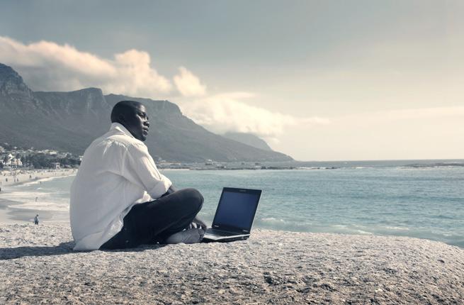 vacations internet usage