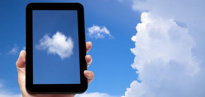 Tablet cloud apps