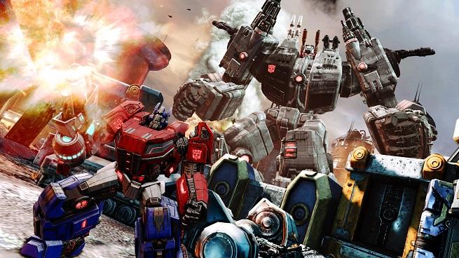 Transformers FOC - Optimus with Metroplex