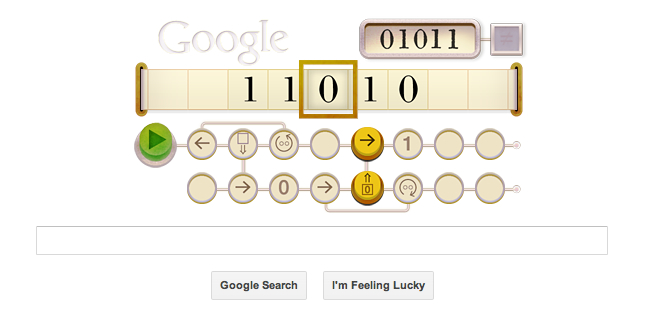 Google Turing game
