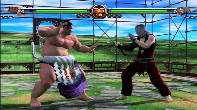 Virtua Fighter 5 Final Showdown, Sega's latest 3D fighter for Xbox 360 and PS3