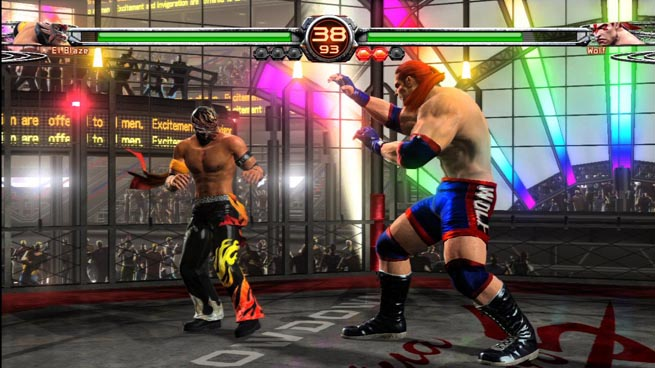 Virtua Fighter 5 Final Showdown, Sega's latest 3D fighter for Xbox 360 and PS3