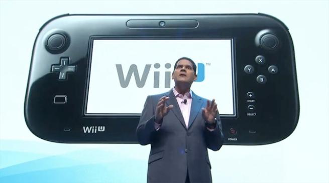 Reggie Fils-Aime at Nintendo E3 2012 Press Conference