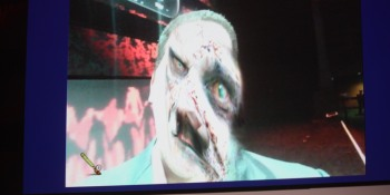 Zombify your face with ZombiU for the Wii U
