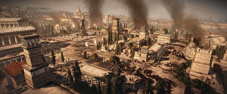 Total War Rome II_Urban warfare