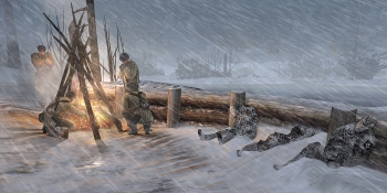 Company of Heroes 2 will feature cool new weather simulation technology for even more strategic gameplay