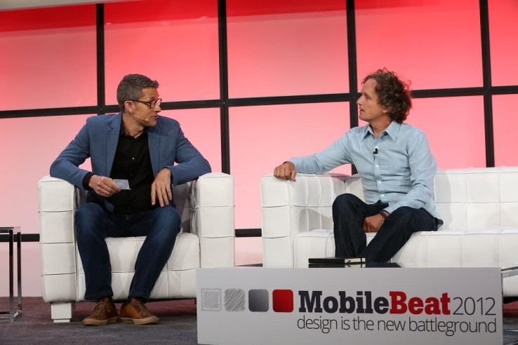 Yves Béhar at the 2012 MobileBeat Conference