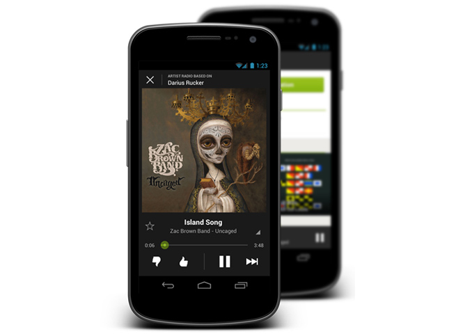 Spotify-Android-free-radio