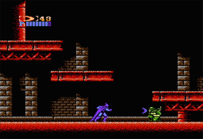 NES version of Batman