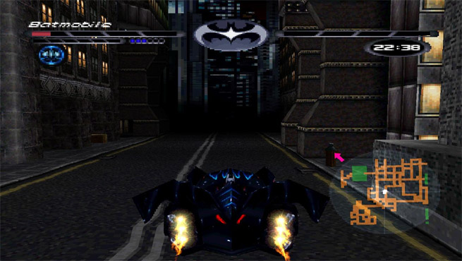 PlayStation game Batman & Robin