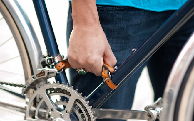 how to make bike grips stay on