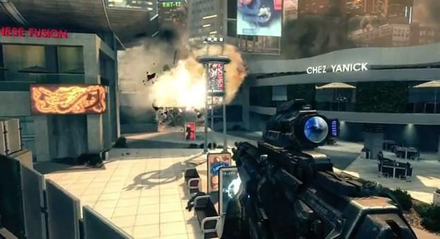Call of Duty: Black Ops II Explosion