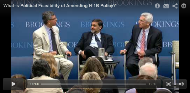 Screenshot for H1-B debate video with Vivek Wadhwa (click to view video)