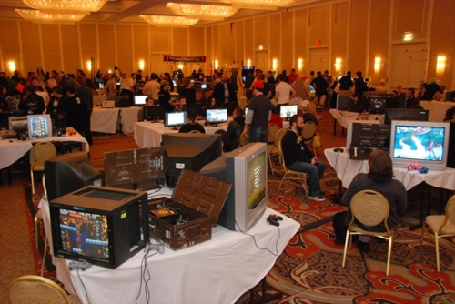 MAGFest game room