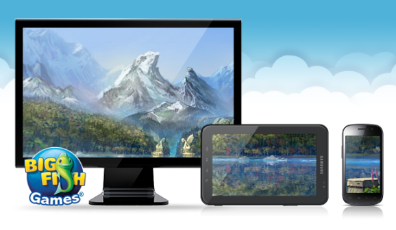 Big Fish Games cloud gaming service