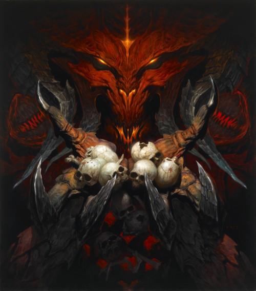 Diablo by Brom