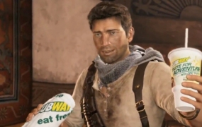 Nathan Drake Subway