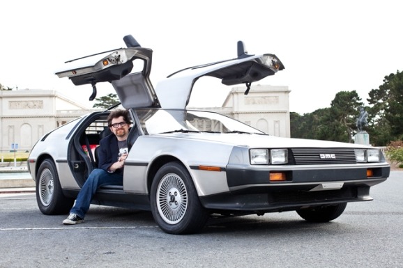 Ernest Cline DeLorean