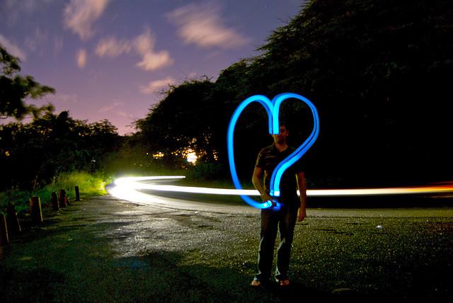Heart shaped image indicating passion