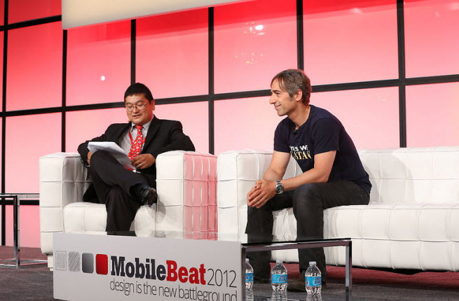 Mark Pincus at MobileBeat/GamesBeat 2012 1