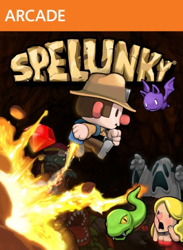 Spelunky cover
