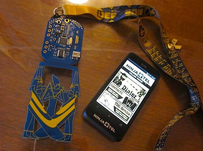 Def Con badges