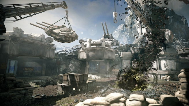 "Gears of War: Judgment ""Island"" map"
