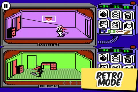 Spy vs Spy Retro Mode