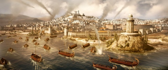 Naval invasion in Total War: Rome II