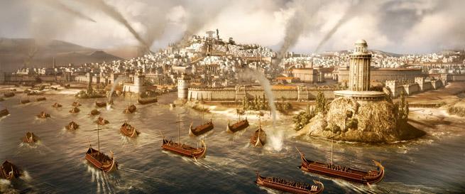 Naval invasion in Total War: Rome II