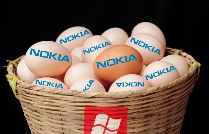 nokia-eggs-in-microsofts-basket
