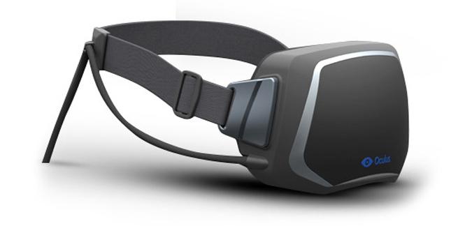 Oculus Rift virtual reality headset