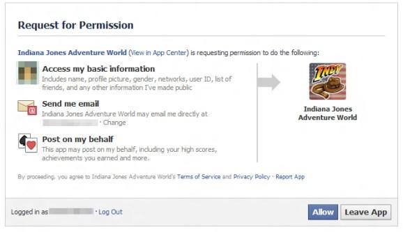 Facebook Permission