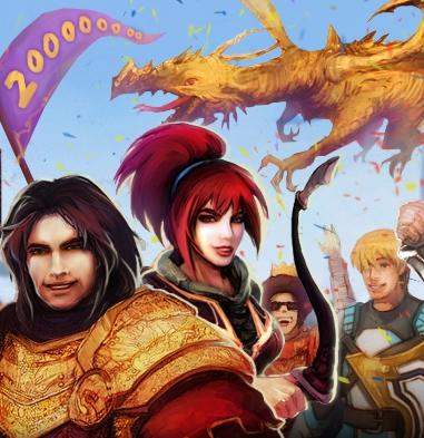 Runescape 200 million accounts small image