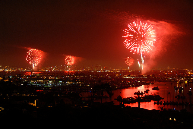 San Diego's simultaneous fireworks display sets stage for deals in Silicon Valley