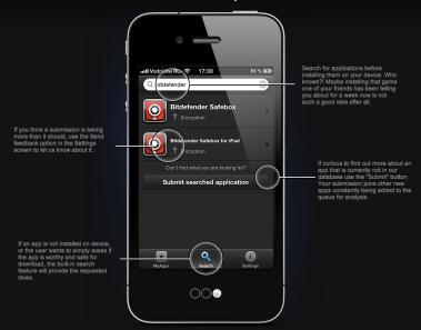 Clueful app capabilities