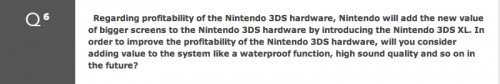 Question 6 from Nintendo's 72nd annual shareholders meeting