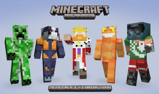 Minecraft: Xbox 360 Edition 1 7 3 update and skin pack coming