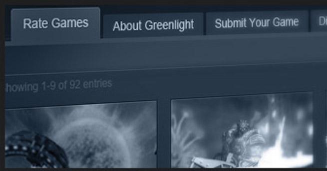 Valve's Steam Greenlight