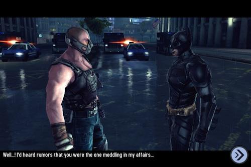 The Dark Knight Rises Bane shot