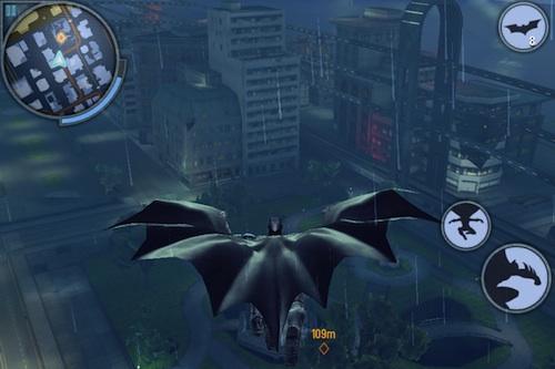 The Dark Knight Rises glide