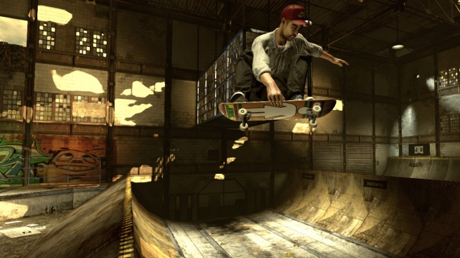 The Warehouse level in THPS HD