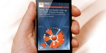 Fluid Interaction's 'Twheel' app could radically change how we use Twitter