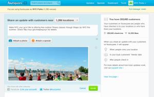 foursquare merchant dashboard
